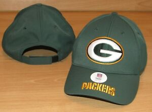 51b1674ce Image is loading Green-Bay-Packers-NFL-Team-Adjustable-Overtime-Hat-