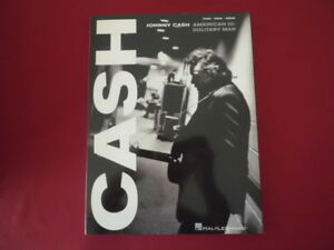 Johnny-Cash-American-III-Solitary-Man-Songbook-Piano-Vocal-Guitar-PVG