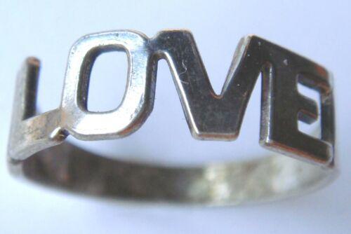 50 16 mm Ø Alter Silberring Damen//Herrenring Hippiering aus 835er Silber Gr