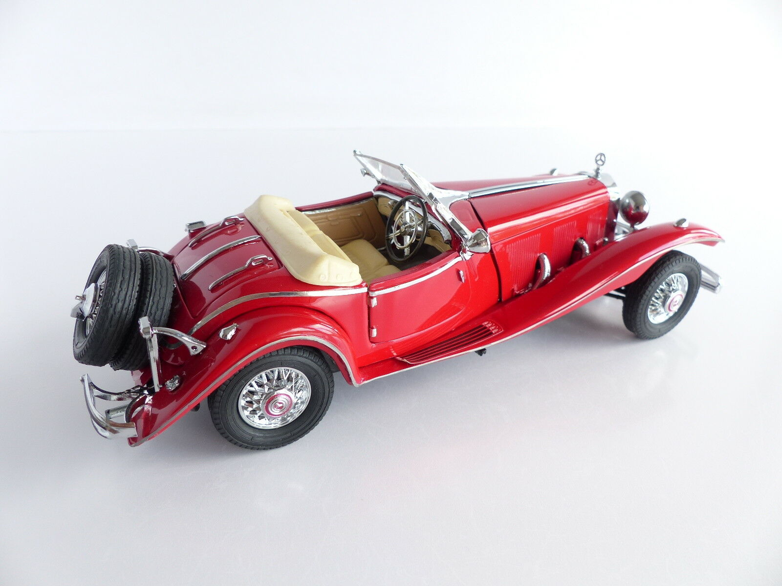 FRANKLIN MINT PRECISION MODELS MODELS MODELS VOITURE MERCEDES BENZ 500K 1935 ECHELLE 1 24 6477fa