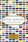 Measure for Measure: An Anthology of Poetic Meters by Everyman's Library (Hardback, 2015)