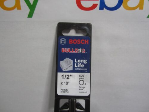 "Bosch HC2087 Bulldog Hammer Drill Bit 1//2/"" x 16 x 18"