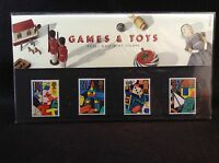GB Royal Mail 1989 Presentation Pack #199 GAMES & TOYS - Free S&H
