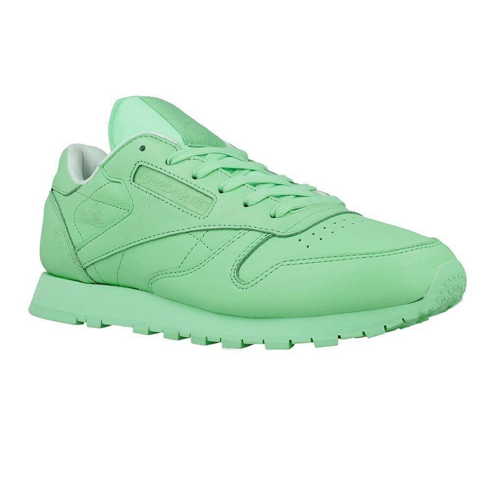 Reebok CLASSIC LEATHER Pastels x Spirit verde bd2773 verde SCARPE BASSE