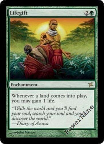 1 Lifegift Green Betrayers of Kamigawa Mtg Magic Rare 1x x1