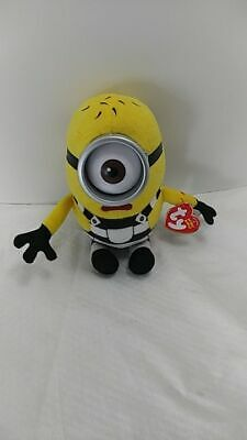 NEW Ty Beanie Baby Babies~ TOM the Minions Despicable Me 3 Movie 6 Inch