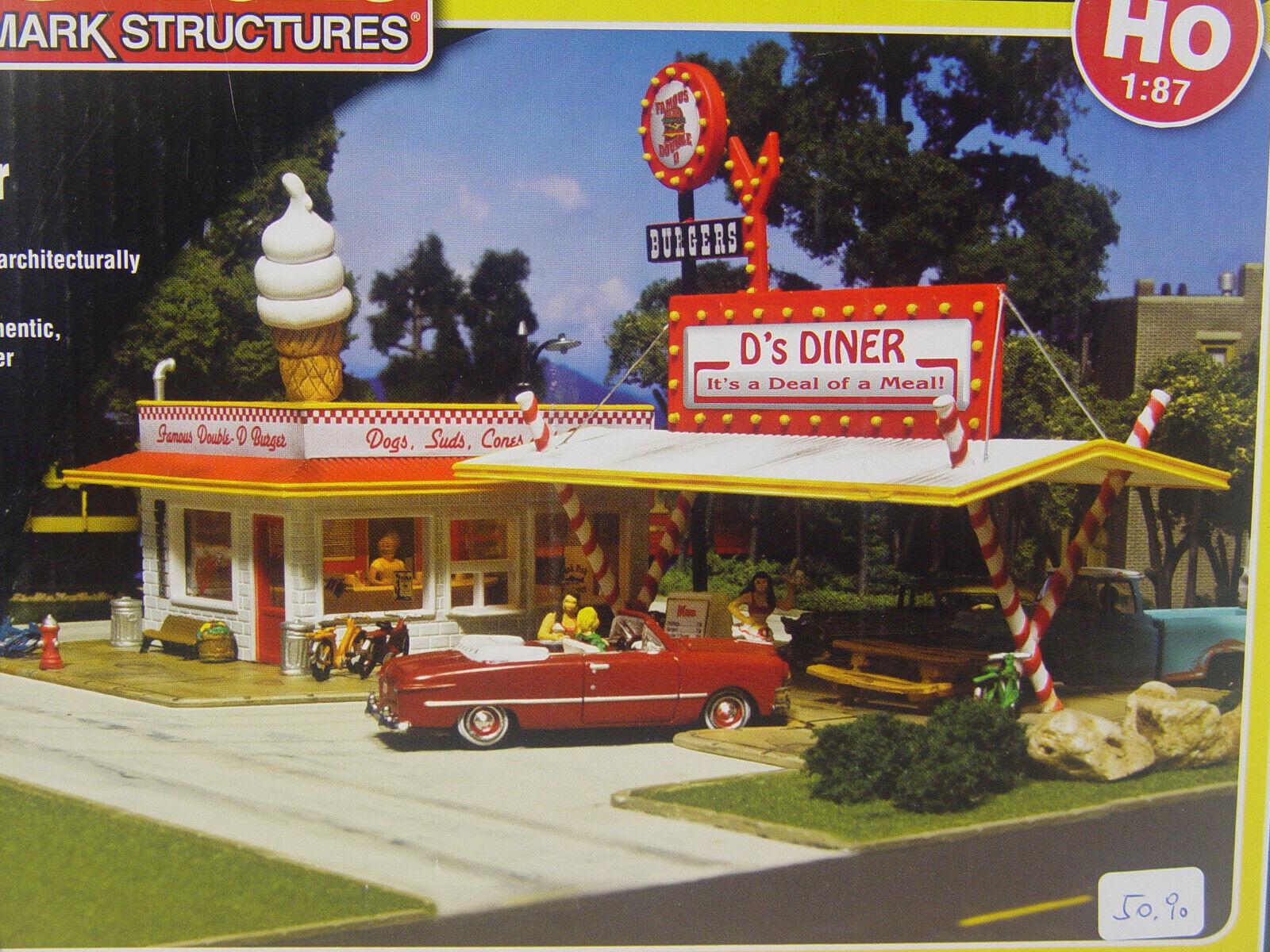 US Drive In In In Raststätte f. Straße  - Woodland  HO Bausatz  PF 5188  E  | Online  23bee8