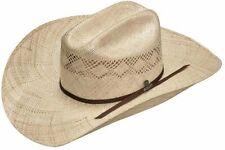 Twister Mens Sancho Canvas Cowboy Hat Black 7 5//8
