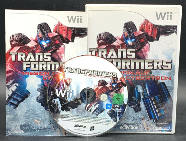 "Nintendo Wii Jeu ""Transformers mission sur Cybertron"" complet"