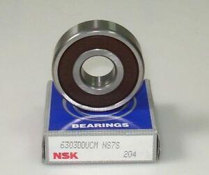 Lot 2 ball bearing has waterproof 6303 2rs 17x47x14 mm