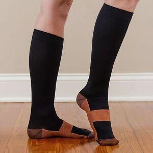 20-30mm-Compression-Socks-Knee-High-Anti-Fatigue-Stocking-Calf-Support-Socks