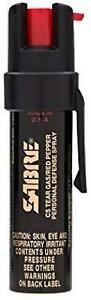 Sabre Advanced Compact Pepper Spray With Clip – 3-In-1 Pepper Spray, Cs Tear G