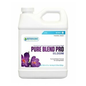 Pure-Blend-Pro-Bloom-Hydroponic-2-3-5-Plant-Food-Veggie-Flower-Fruit-Qt-Gal