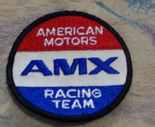 AMERICAN MOTORS  AMX  RACING TEAM EMBROIDERED PATCH NOS
