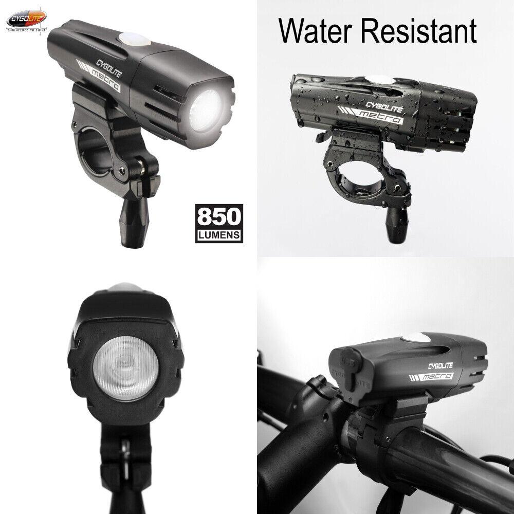 Cygolite Metro 850 Lumen bici luz – – 4 modos de noche & durante el día el modo de flash –...