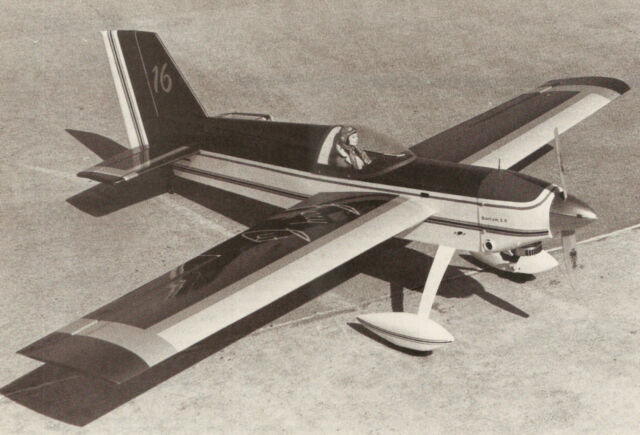 Giant Scale Fancy Cut Sport Plane Plans Templates And