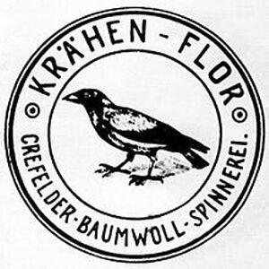 Crefelder-Baumwoll-Spinnerei-Crefeld-hist-Textil-Aktie-1920-Krefeld-van-Delden