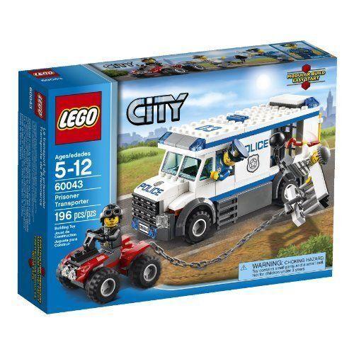 LEGO City City City Police 60043 Prisoner Transporter a6b0ea