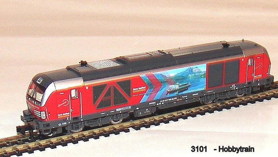 3101 - Hobbytrain - Diesel Locomotive Br 1247 905 Vectron Star Hafferl New