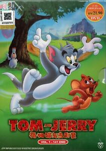 Kids Cartoon DVD Tom And Jerry TV Series Vol.1-141 (Over 10 Hours) English Dub