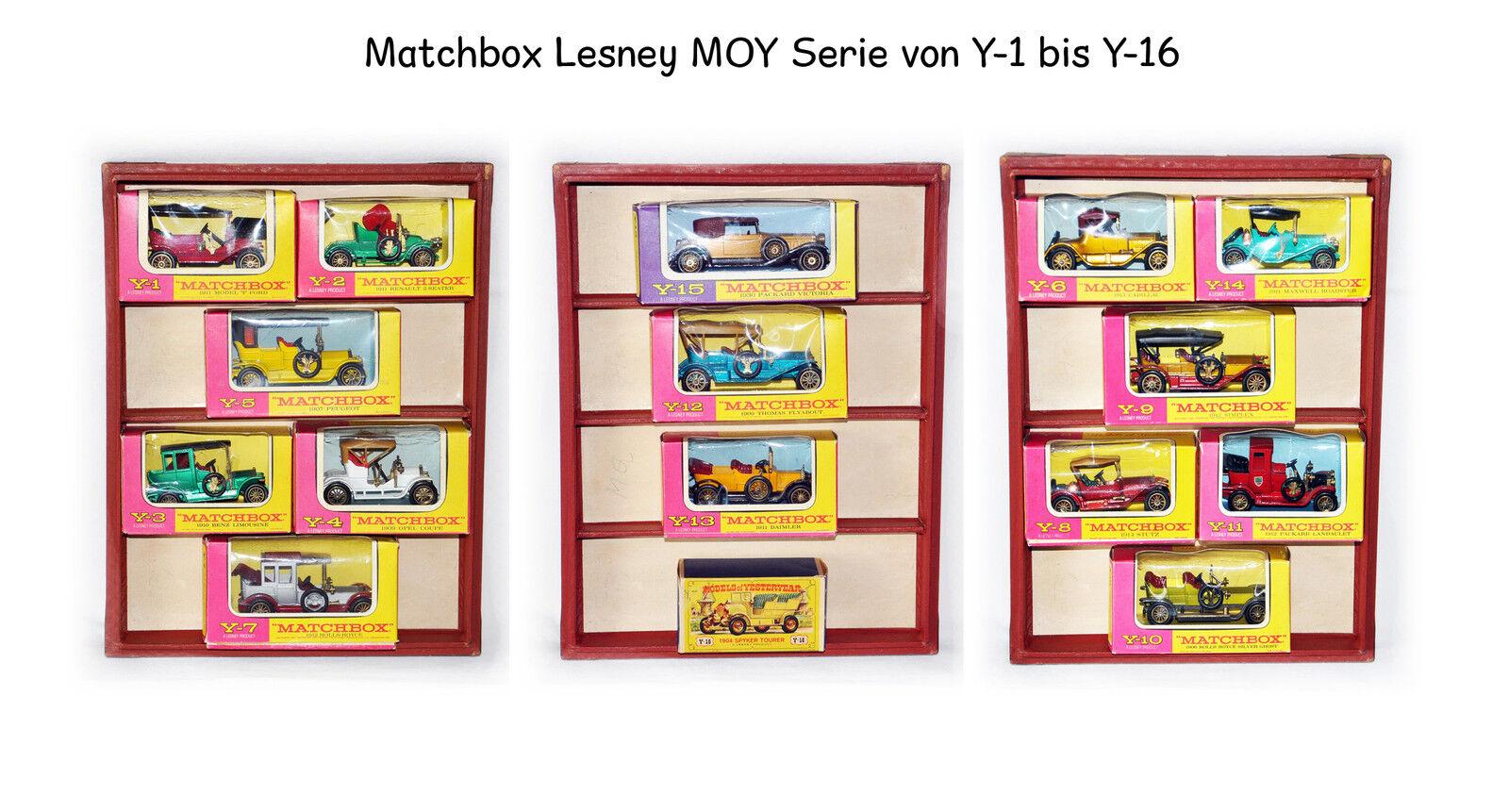 Lesney yeseryear Moy   y - 1 a y - 16 no está registrado en ovp.