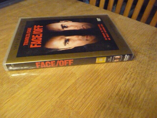 Face/Off, DVD, action