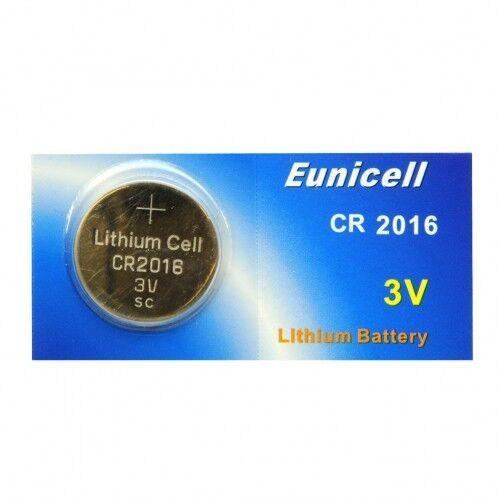10 Batterien 3V Lithium CR2016 EUNICELL