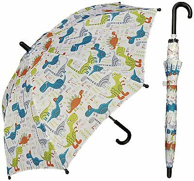 "32"" Arc Children Pink Fairy Print Plastic Umbrella RainStoppers Rain//Sun"