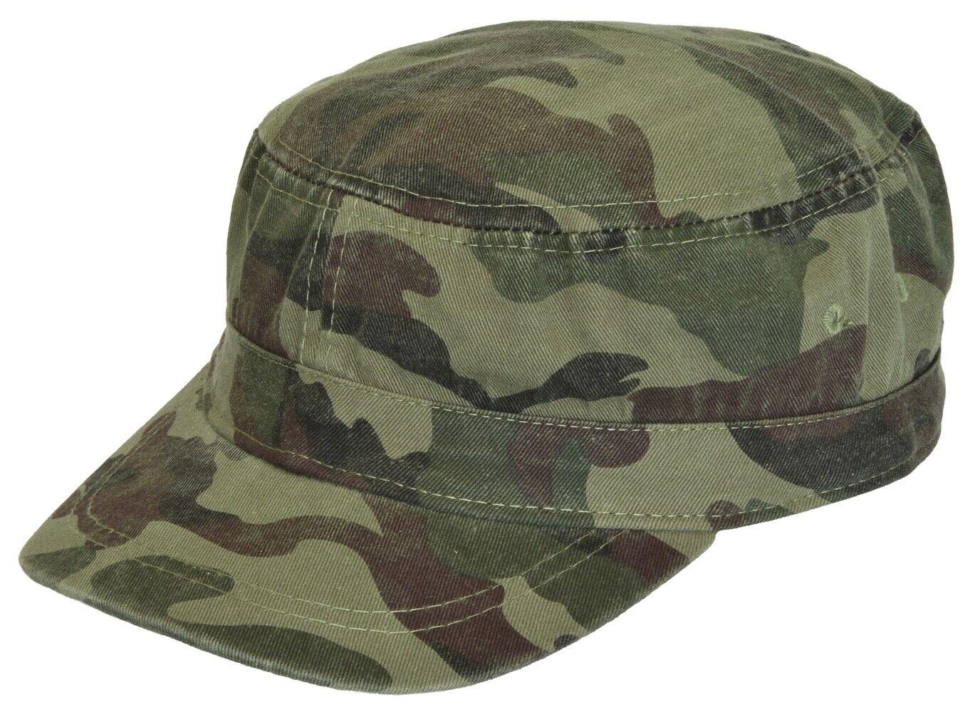 Unisex Kadettenkappe Tarnkappe Basecap Mütze Cap Kappe Schirmmütze
