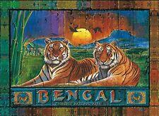 Clementoni Bengal Park Tigers 1000 Piece Wildlife Big Cats Jigsaw Puzzle