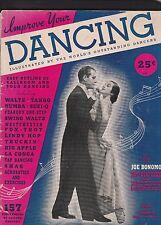 IMPROVE YOUR DANCING BY JOE BONOMO-157 PHOTOS OF FAMOUS DANCERS -1938