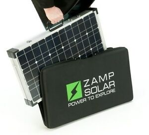 Brand New Zamp Solar Zs 120 P 120watt Portable Charge Kit