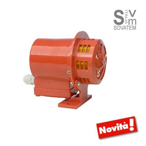 Sirène Électrique Sécurité Du Re Service Ne Pas Continue 220V 103dB Zippo 5155