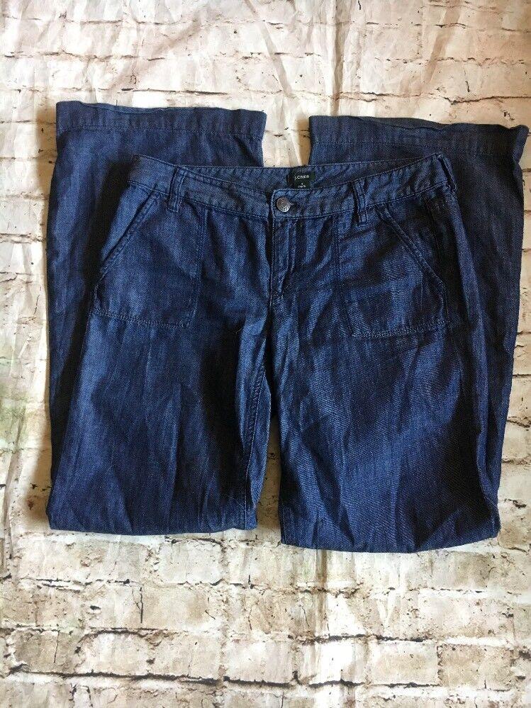 J Crew Women's Denium Medium Wash Jeans City Fit Size 4
