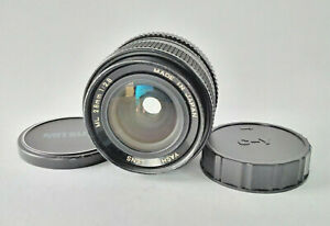 Yashica-ML-28mm-f-2-8-schnell-6-Blade-Wide-Angle-PRIME-CAMERA-LENS-C-Y-Mount