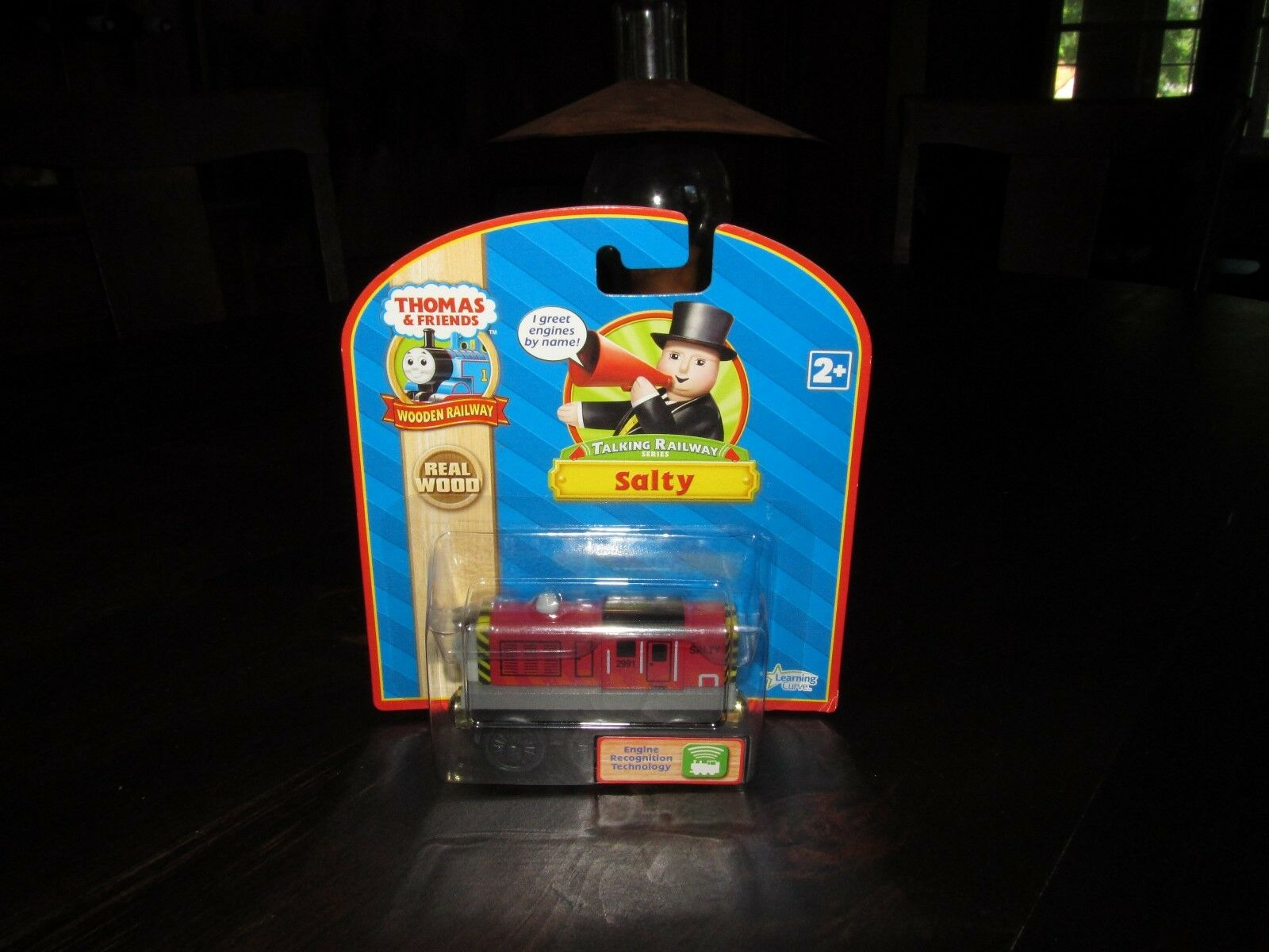 Thomas the Train Wooden Talking Railway Salty Car 98708 Learning Curve New Box