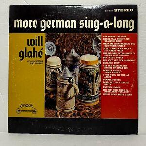 Will Glahé – More German Sing-A-Long: London Records LP Vinyl (Brass & Military