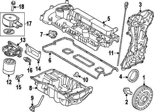 Land Rover Genuine Discovery Sport Lr2 Lr096524 Oil Filter For Sale