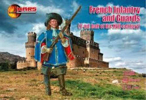 2-nd.half of the XVII century - 1:72 Mars 72083 French Infantry and Guards