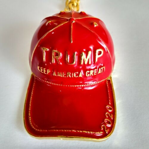 MAGA DONALD TRUMP KEEP AMERICA GREAT  2020 HAT RED BLUE PINK CAP METAL  KEYCHAIN