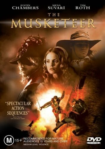 1 of 1 - The Musketeer (DVD, 2002)