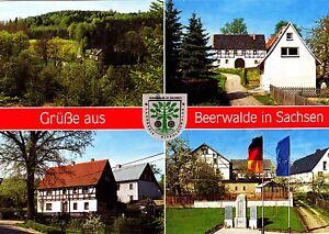 Grüße aus Beerwalde in Sachsen , Ansichtskarte , gelaufen - Deutschland - Grüße aus Beerwalde in Sachsen , Ansichtskarte , gelaufen - Deutschland