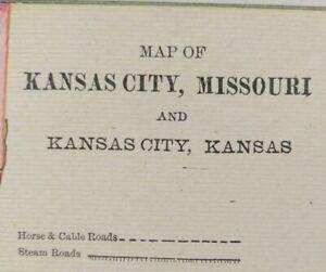 KANSAS-CITY-MISSOURI-1900-Vintage-City-Atlas-Map-11-034-x14-034-Old-Antique-WESTWOOD