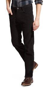 Wrangler-Arizona-New-Stretch-Cords-Mens-Straight-Leg-Corduroy-Jeans-Black
