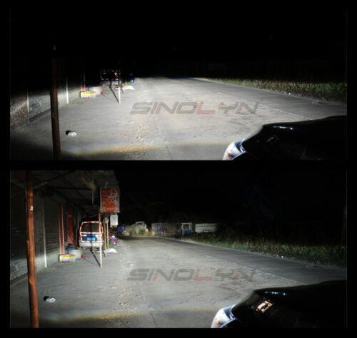 3.0'' D1S D2S D3S D4S HID Bi-xenon Projector Lens W// Blue Demon Eyes Honeycomb