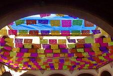 Dia de los muertos papel picado mexican banners paper or plastic tradicional