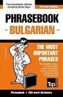 English-Bulgarian Phrasebook and 250-Word Mini Dictionary by Andrey Taranov (Paperback / softback, 2015)