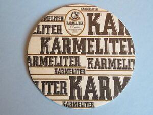 Details About Beer Coaster Karmeliter Helles Lagerbier Bad Neustadt Salz Bayern Germany
