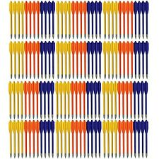 120 PLASTIC ARROWS BOLTS METAL TIPS FOR 50 & 80 lb PISTOL CROSSBOW GOOD QUALITY