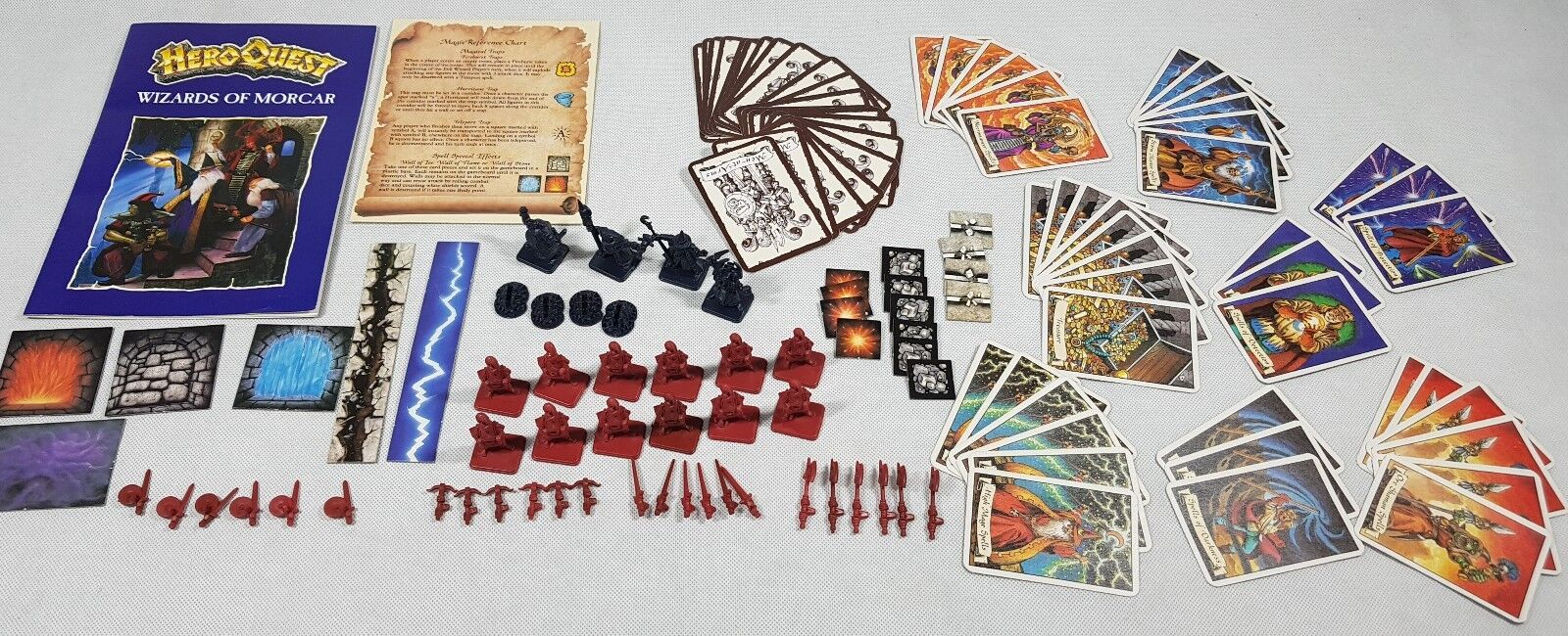 HeroQuest Wizards of Morcar expansion - unboxed, Hero Quest [ENG, 1992]